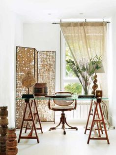 boho office chic
