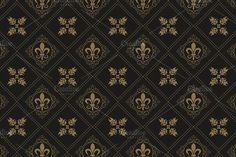 black wallpaper by kio on Black Wallpaper, Flower Wallpaper, Pattern Wallpaper, Textile Patterns, Damask Patterns, Floral Patterns, Retro Pattern, Pattern Design, Background Patterns