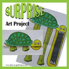 This Surprise Art Project is quirky, fun and easy to do. All you need are some pens and paper and your ready to go. Create your own suprise art project!
