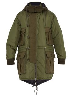 Gabriel reversible down parka by Moncler