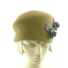 Felt Cloche Hat for Women  New Vintage Style by TheMillineryShop, $225.00