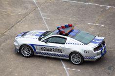 Highway Patrol showcar  #Ford #Mustang #mustangclub