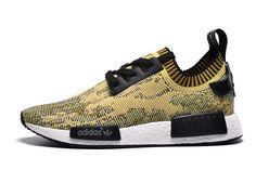 Adidas NMD R1 Men - Boost Runner Primeknit Yellow Camo