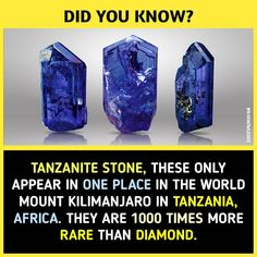 I live in arusha tanzania, & their not mined @ mount kilimanjaro it's mined @ mererani arusha.