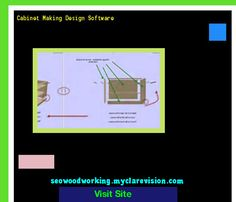 Cabinet Making Design Software 204108 - Woodworking Plans and Projects!