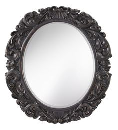 "View the Murray Feiss MR1150 Imperial Oval 43"" Height x 38"" Width Undefined Oval Mirror at LightingDirect.com."