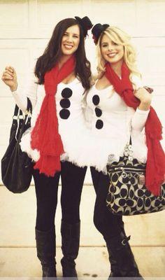 Snow women for Halloween