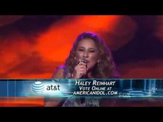 Haley Reinhart-Benny and the Jets-American Idol..I have no idea how I stumbled upon this, but this girl is amazing