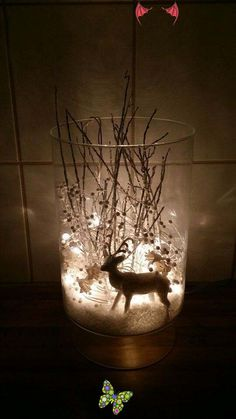 100+ Easy Christmas Decoration That Are Within Your Budget yet looks Gorgeous - Hike n Dip 100+ Easy Christmas Decoration That Are Within Your Budget yet looks Gorgeous - Hike n Dip<br> Here are easy Christmas decoration ideas which are within your budget. These dollar store Christmas decor ideas are cheap DIY Frugual Decorations for Xmas. Christmas Table Centerpieces, Beautiful Christmas Decorations, Decorating With Christmas Lights, Centerpiece Ideas, Wedding Centerpieces, White Christmas Lights, Simple Christmas, Christmas Diy, Xmas