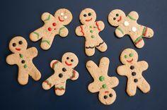 Receita de Gingerbread Man, uma clássica receita natalina, ideal para fazer com as criançãs nas vésperas do Natal! Ótima opção de presente também :)