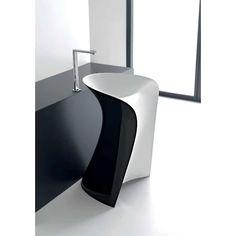 Lavabo freestanding MISS by Hidra Ceramica Sink, Bathroom, Furniture, Design, Home Decor, Powder Room, Bath, Sink Tops, Washroom