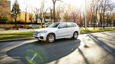 2014 BMW X5 M50d in the sun