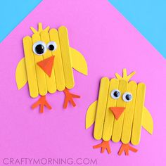 22 Ideas diy children crafts for kids popsicle sticks Easter Craft Activities, Easy Easter Crafts, Bunny Crafts, Crafts For Kids To Make, Easter Crafts For Kids, Toddler Crafts, Easy Crafts, Arts And Crafts, Thanksgiving Activities