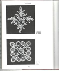 Romanian Point Lace Crochet as found in the book, The Technique of Tape Lace