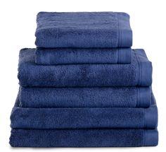 Serviette de bain Bleu marine 580g/m² haut de gamme confortable Bleu Marine, Styles, Bathroom, Towels, Collection, Yurts, Towel, Midnight Blue, Washroom