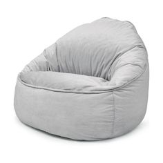 With a stylish look, this bean bag will surely add a fun element to your child's room. Bean Bag Filling, Bean Bag Ottoman, Kids Bean Bags, Kids Table And Chairs, Eames Chairs, Bag Chairs, Toy Rooms, Houses, Couches