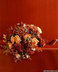 beautiful for fall. great ribbon