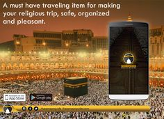 Haramayn Guide, a must-have #traveling item for making your #religious trip, safe, organized and pleasant.
