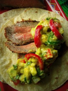 Chipotle-Marinated Steak Tacos – Hispanic Kitchen