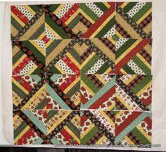 » Amazing Jelly Roll Quilt Pattern  3 Dudes Quilting version