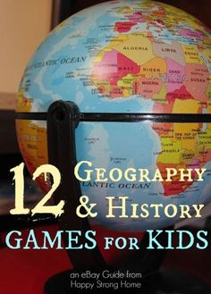 12 History and Geography Board Games That Make Learning Fun! | eBay