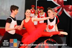 Students performed Alice In Wonderland to a packed house in April. #WCCBESTOF14