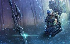 elezen and haurchefant de fortemps [FF XIV] Final Fantasy Artwork, Final Fantasy Xiv, D D Characters, Fantasy Characters, Realm Reborn, Fantasy Landscape, Best Artist, Fantasy World, Angst