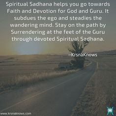 Spiritual Sadhana