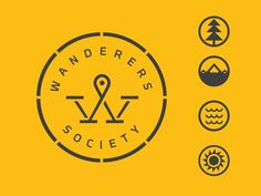 Wanderers logo and icons. #logo #icons