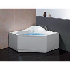 Ariel Platinum 59 Inch Whirlpool Bathtub