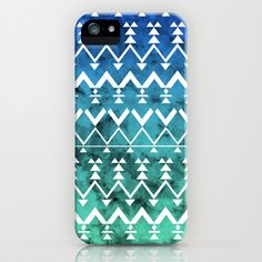 Triangle Tribal iPhone Case by Emma Mazur - $35.00