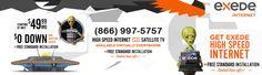 DeRidder, LA Satellite Internet from Exede