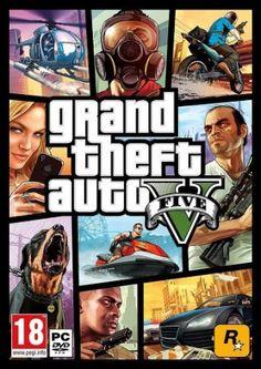 Grand Theft Auto V - Ssan andreas 5 pc-  GTA 5 (PC)