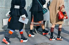 PFW shoe parade - Tommy Ton Shoots the Best Street Style at the Fall '15 Shows