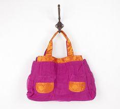 Bolsa Sari Indiano │Cor: Púrpura