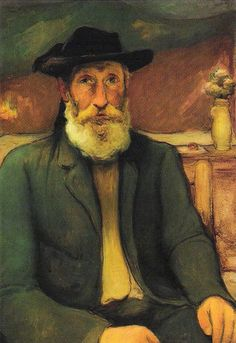 "Wladyslaw Slewinski ""Self-Portrait in a Breton Hat"", c. 1912"