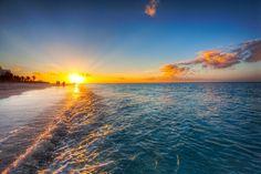 Grace Bay beach, Turks &  Caicos Island in the Caribbean #GraceBay #Turks&Caicos #Caribbean #summer #sun # beach