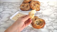 Just when you thought homemade soft pretzels couldn't get any better, they do! Sourdough Soft Pretzels have a wonderful flavor and chewy bite. #how to #video #recipe #homemade #yeast #easy #sourdough #