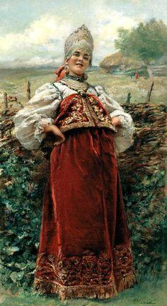 Красота женщин допетровской Руси - Ярмарка Мастеров - ручная работа, handmade