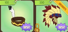 I HAD A INDIAN HEADBAND! IT WAS RARE TOO! I HAD NO IDEA IT WAAAS BETA WHEN I TRADED IT! :O