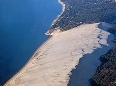 The Great Dune of Pyla, the Highest Sand Dune in Europe.