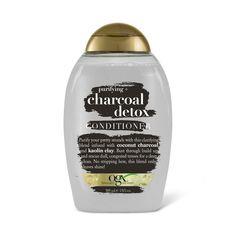Ogx Purifying + Charcoal Detox Conditioner, 13 oz, NA Ogx Shampoo, Detox Shampoo, Hair Shampoo, Hair Rinse, Best Shampoos, Shampoo And Conditioner, Body Wash, Skin Care, Korea