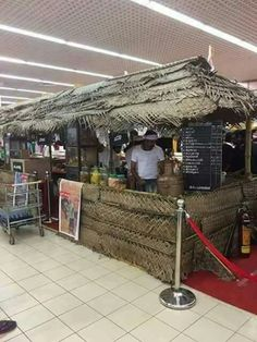 A Indian tea stall London air port.