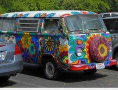 Hippie Camper Van....one day ...one day...