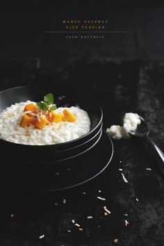 Mango Coconut Rice Pudding from @Sneh Roy | Cook Republic