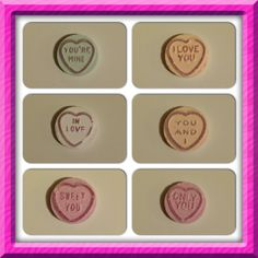 Wonderful Love Hearts Sweets, gorgeously fizzy and fruity and each one has one of over two hundred different messages.  What will yours say?
