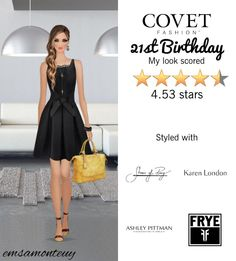21st Birthday @covetfashion  #covet #covetfashion #fashion #covetfall2015 #fall2015 #womensfashion #21stBirthday #birthday #CeCeByCynthisSteffe #ShoesOfPrey #Frye #AshleyPittman #KarenLondon #DovesByDoronPaloma