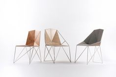P-11 is a minimalist design created by Russia-based designer Plan-S23. The main goal was - to create a chair with complex polygonal shapes simple to manufacture without using any fasteners. (1)