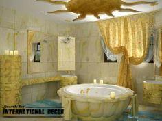 False Ceiling Pop Designs For Bathroom Ceiling Ideas Contemporary