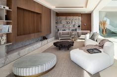 How to Bring Eco-Conscious Beauty to Your Home - Sotheby's International Realty Villas, Swimming Pool Designs, Upcycled Furniture, Sustainable Design, Modern Luxury, Luxury Villa, Luxury Real Estate, Living Area, Interior
